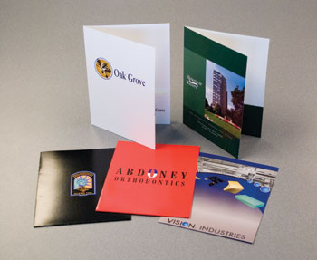 Pocket presentation folders make your presentation one that stands out against the competition.